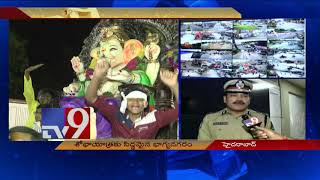 Video CP Anjani Kumar on Ganesh idol immersion arrangements in Hyderabad - TV9 MP3, 3GP, MP4, WEBM, AVI, FLV September 2018