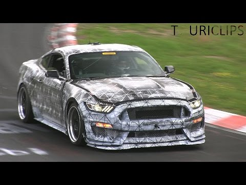 Nürburgring - Watch the 2016 Ford Mustang SVT / GT350 undergoing testing on the Nürburgring Nordschleife! This would be a high performance version of the new Mustang GT that has yet to go on sale. It has...