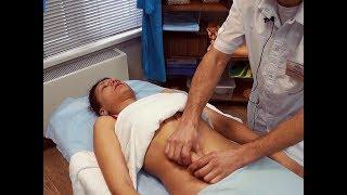 Массаж живота в клинике косметологии Моника