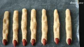 Galletitas de dedos de bruja