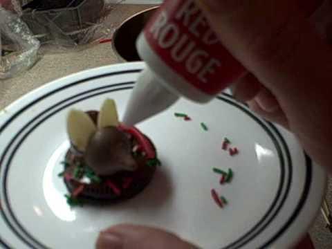 Cherry Kiss Christmas Mice cookies (видео)