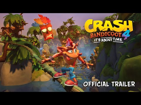 Crash Bandicoot 4: It's About Time : Trailer de gameplay avec la date de sortie
