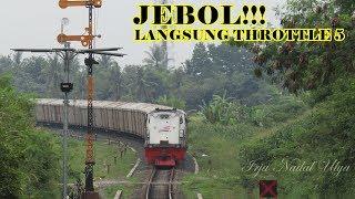 Video JEBOL!! Gakuat Nanjak. Lokomotif CC 204 Langsung Throttle 5. Gaharnya KA Pulp CC 204 MP3, 3GP, MP4, WEBM, AVI, FLV Mei 2019