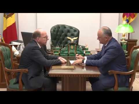 Igor Dodon had a working meeting with Oleg Vasnetsov