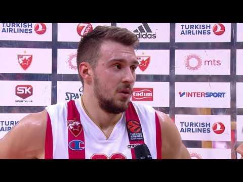 Post-game interview: Marko Guduric, Crvena Zvezda mts Belgrade