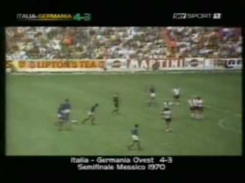 Italia-Germania 4-3  Mexico 17 Giugno 1970