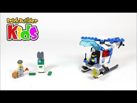 Vidéo LEGO Juniors 10720 : La poursuite en hélicoptère de police