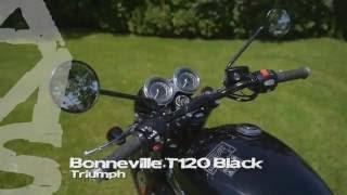 7. Triumph Bonneville T120 Black  - Ams Moto