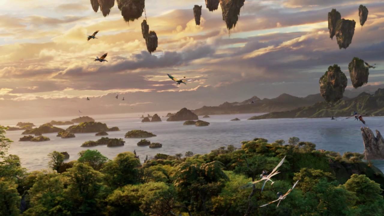 Avatar Flight of Passage ride footage