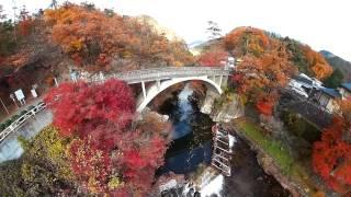 空撮 / 河口湖もみじ回廊 昇仙峡
