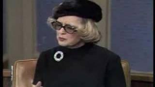 Bette Davis bitches about ingratitude