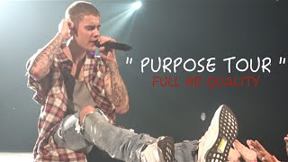 Justin Bieber 40min HD Concert Montage- Front Row - Purpose Tour - Bell Center (Montreal)-  VLOG #2 full download video download mp3 download music download
