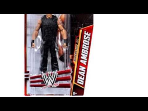 Video New YouTube  video for the Wwe Series 33 Superstar Dean Ambrose