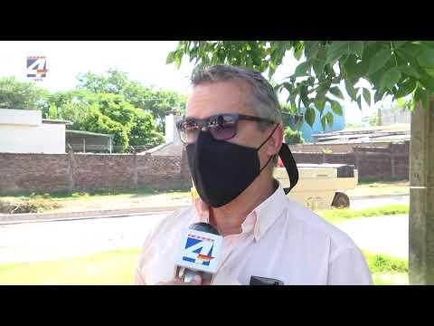 Mársico indicó que se pretende comenzar este año con obras de pluviales en calle Tacuarembó