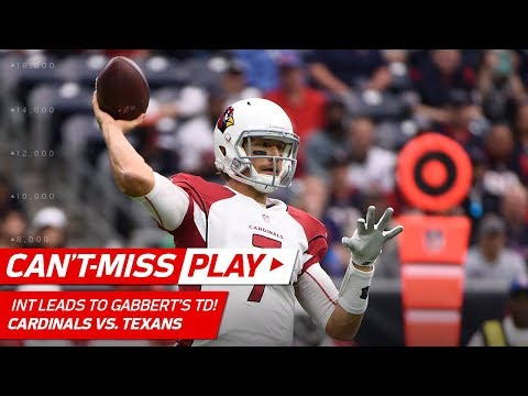 Video: Patrick Peterson's One-Handed INT Sets Up Blaine Gabbert's TD Pass! | Can't-Miss Play | NFL Wk 11