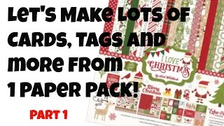 Video Cards, Tags and More from 1 Paper Pack Super Quick and Easy MP3, 3GP, MP4, WEBM, AVI, FLV Juli 2019