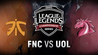 Video FNC vs. UOL  - Week 4 Day 1 | EU LCS Spring Split |  Fnatic vs. Unicorns of Love (2018) MP3, 3GP, MP4, WEBM, AVI, FLV Juni 2018