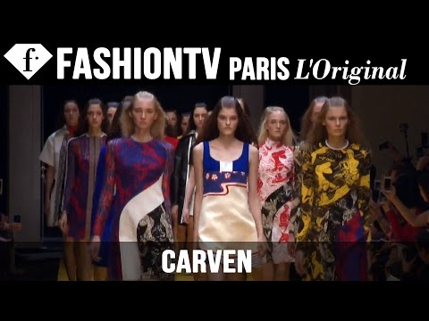 Fashion TV - http://www.FashionTV.com/videos PARIS - See the latest collection from Carven on the runway during Paris Fashion Week Spring/Summer 2015. Guillaume Henry's last collection for Carven is all...