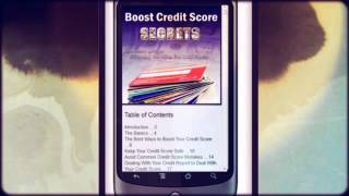 Boost CreditScore Secret Tips YouTube video