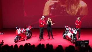 9. RawFile; 2012 Ducati 1199 Panigale S Tricolore Unveiling Milan in Italian