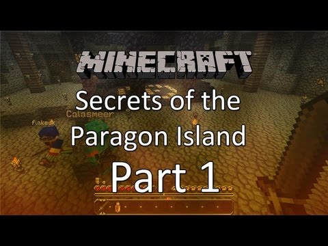 Minecraft: Secrets of the Paragon Island  — Part 1 — Damned Gold Mine!