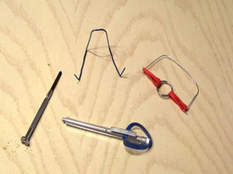 household - What can you make with paper clips, rubber bands, a pencil, a keyring, a BB and a screwdriver? Here are 4 great hacks anyone can do! Like it? Tweet it! http:...