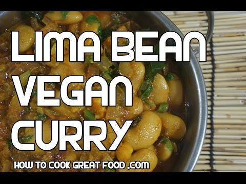 Lima Bean Curry Recipe – Vegan Butter Beans Indian Masala