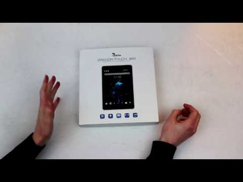 Unboxing Dragon Touch X80