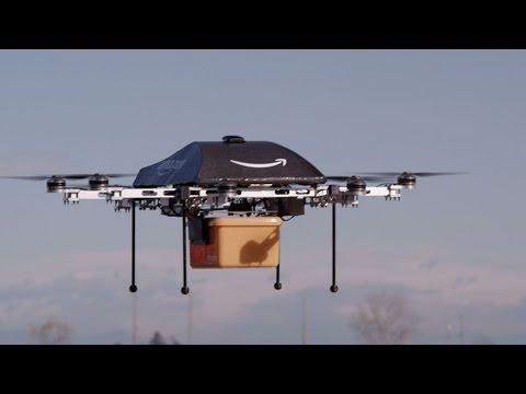 Amazon sử dụng máy bay để giao hàng ở Mỹ
