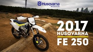10. 2017 Husqvarna FE 250 | 4 Stroke - First Ride and Sound