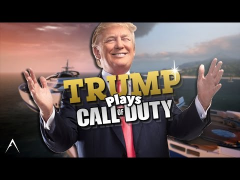 Trump Plays Call of Duty! [OFFENSIVE] (видео)