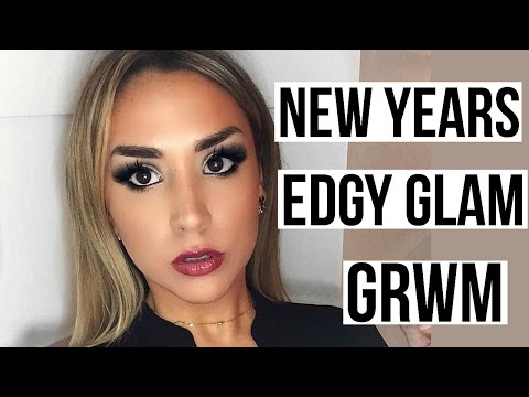 NEW YEARS EVE GRWM! Edgy Glam