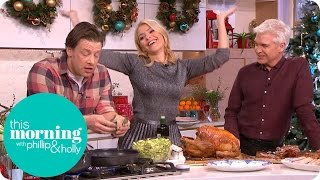 Video Jamie Oliver's Brussels in a Hustle and Knife Sharpening Tips | This Morning MP3, 3GP, MP4, WEBM, AVI, FLV Mei 2019