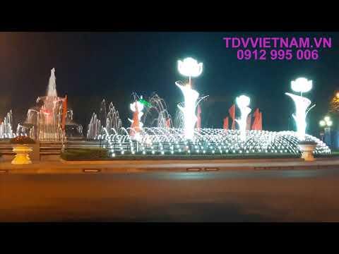 Đài phun nước Thành phố Vĩnh Yên - Vĩnh Phúc