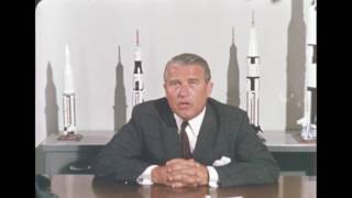 Dr. Wernher von Braun's Statement on Equal Employment Opportunity by Marshall Space Flight Center