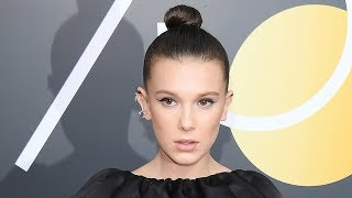Video Why Millie Bobbie Brown Didn't Walk Red Carpet With Stranger Things Cast At Globes MP3, 3GP, MP4, WEBM, AVI, FLV Juli 2018
