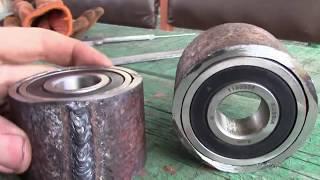 Верхние ступицы для самодельной роторной косилки