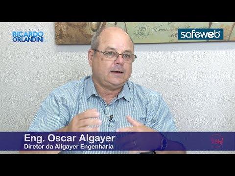 Reengenharia do Humor com o Eng. Oscar Allgayer, falando sobre mercado imobiliário, construção civil e seu livro