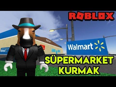 🏪 Kendi Süpermarketimizi (Walmart) Kuruyoruz 🏪 | Walmart Tycoon | Roblox Türkçe