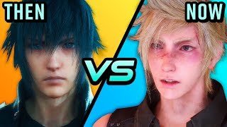 Video Final Fantasy 15 - One Year Later  - Then vs. Now (Is it Better?)   The Leaderboard MP3, 3GP, MP4, WEBM, AVI, FLV Desember 2018