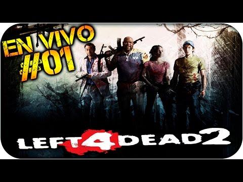 left 4 dead 2 | En vivo | Con la banda OP | Tirando bala | Parte#1