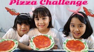 Video #Pizza Challenge - Kenapa jadinya acak2an Pizzanya haha MP3, 3GP, MP4, WEBM, AVI, FLV Juni 2017