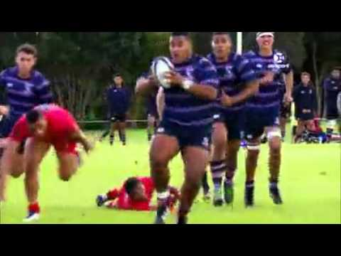 Rugby – 135kg teenager Taniela Tupou scores 3 tries