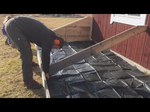 How To Build A Heated Cold Frame For Under $100 - Part 1