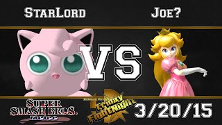 Friday FightNight SSBM 3/20/15 – Melee