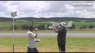 RC Model Plane Crash - The Second (ill-fated) Flight Of The SkyWalker
