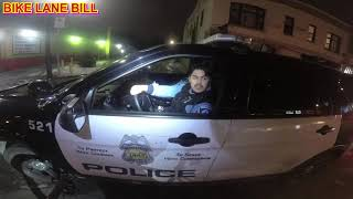 illegal pass + unsignaled pass by minneapolis police department + attempted education