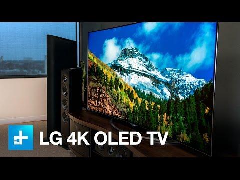 LG 65 inch 4K OLED TV Hands On