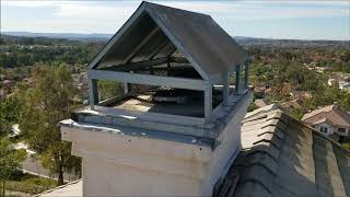 Roofer shows The Worst Chimney Cap or Crown Fail - A+ for Effort but, it is still Ugly as it Gets