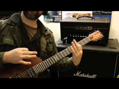 Orange Dark Terror VS Line 6 DT25  -  Metal Tones
